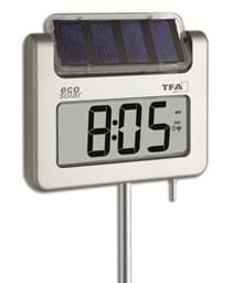 "Bild von ""Avenue Plus"" Digitales Solar-Gartenthermometer 30.2030.54"