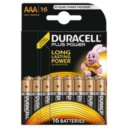 Bild von Duracell Plus Power MN2400 Micro 16er-Blister