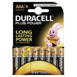 Bild von Duracell Plus Power MN2400 Micro 8er-Blister