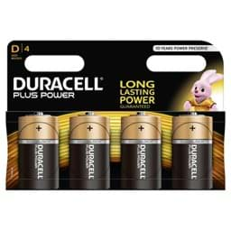 Bild von Duracell Plus Power MN1300 Mono  4er-Blister
